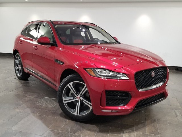 certified pre-owned 2018 jaguar f-pace 25t r-sport 4 door suv in