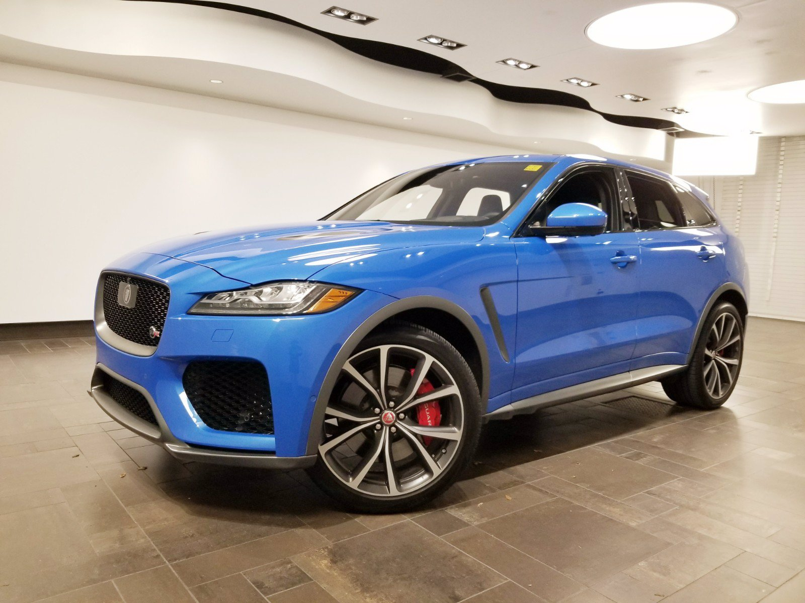 Certified Pre-Owned 2019 Jaguar F-PACE SVR