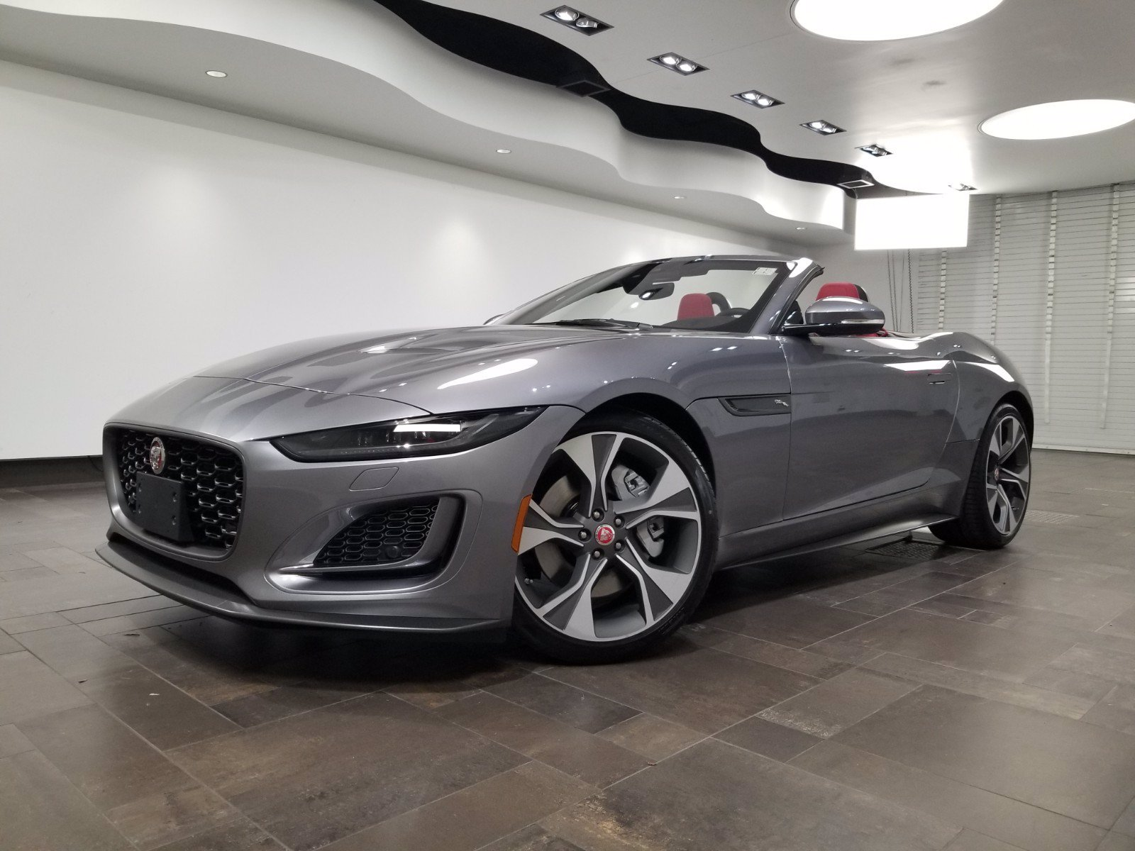 New 2021 Jaguar F-TYPE P300 Convertible First Edition