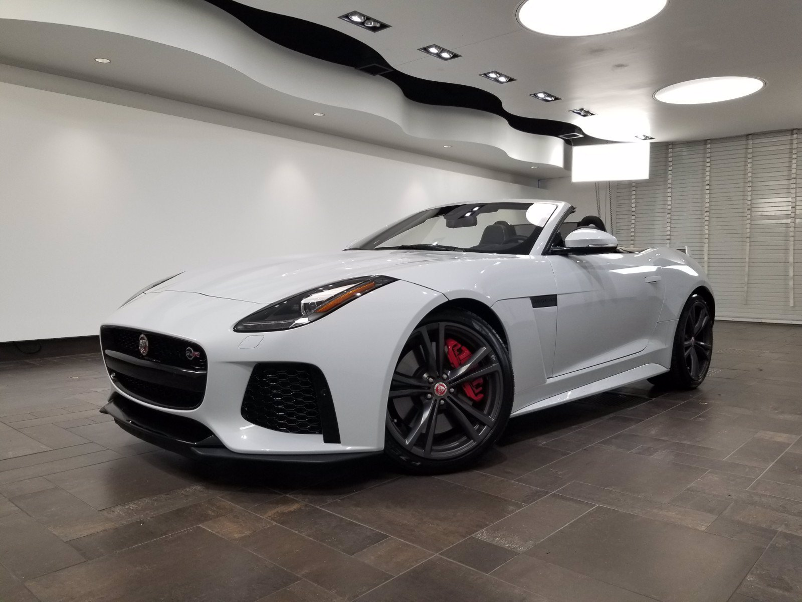 Certified Pre-Owned 2017 Jaguar F-TYPE SVR Convertible