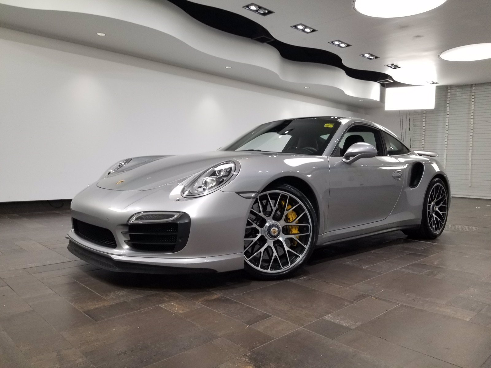 Pre-Owned 2015 Porsche 911 Turbo Cuope
